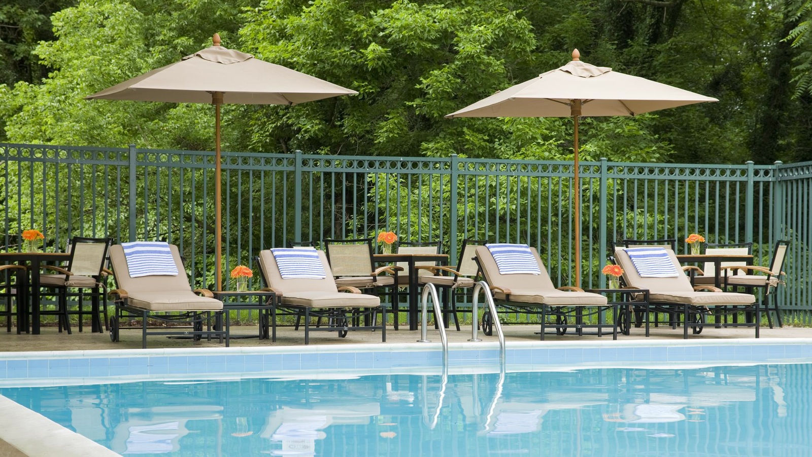 Sheraton Columbia Town Center Hotel | Hotel Features - Outdoor Pool