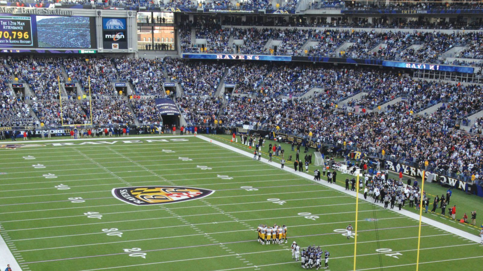 Things to do in Columbia MD - M&T Bank Stadium